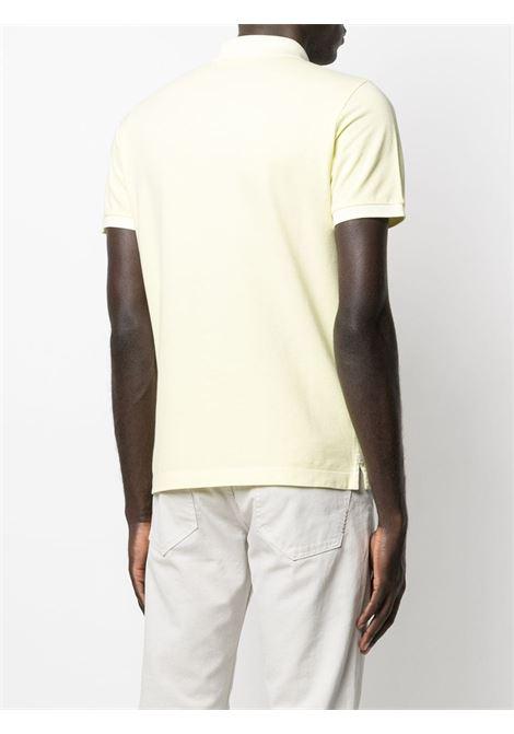 Yellow cotton polo shirt featuring Stone Island logo  STONE ISLAND |  | 741522S67V0031