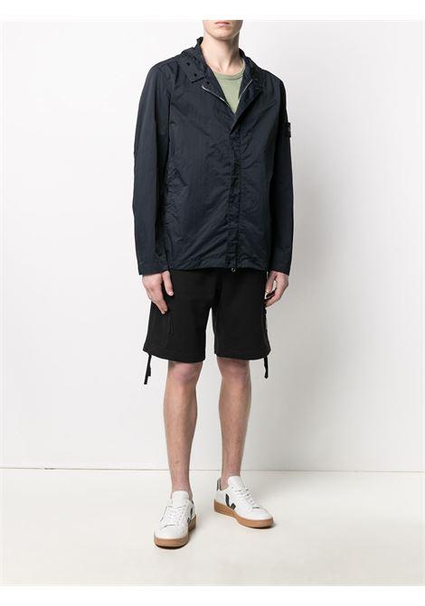 Dark-blue Batavia-TC lightweight jacket  STONE ISLAND |  | 741543333V0020