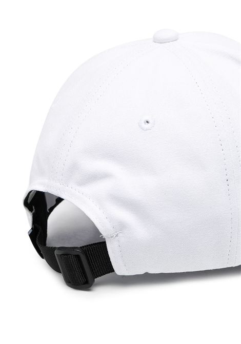 White cotton Stone Island embroidered logo cap  STONE ISLAND |  | 741599661V0001