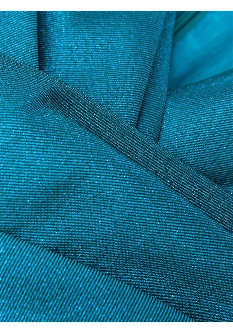 Abito lungo aderente blu Bosworth smanicato con scollo a V TALBOT RUNHOF | Abiti | BOSWORTH1-DG15451
