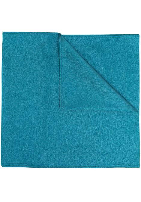 stola effetto glitter oversize blu petrolio TALBOT RUNHOF | Stole | KITTY9-DG15451