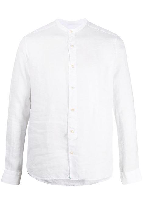 White linen band collar shirt  TINTORIA MATTEI |  | Q66-CT5UA1