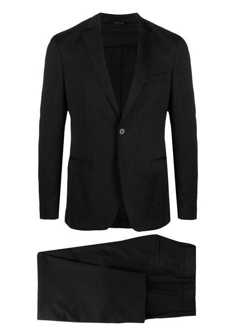 Black virgin wool single-breasted suit  TONELLO |  | 06AU459T-3215W990