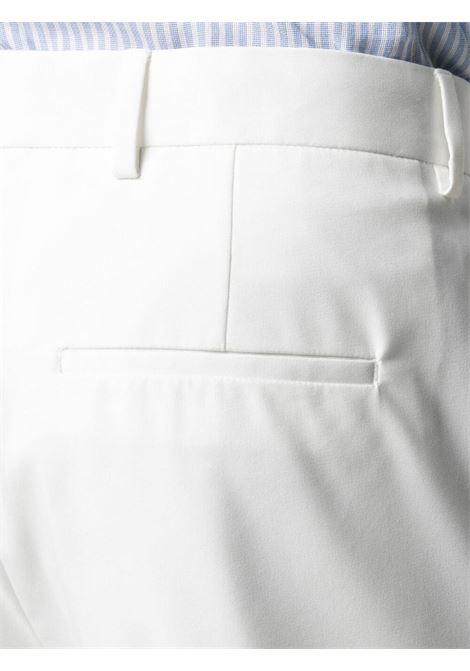 White cotton notch-lapels double-breasted suit   TONELLO |  | 06AU739Y-9210U001