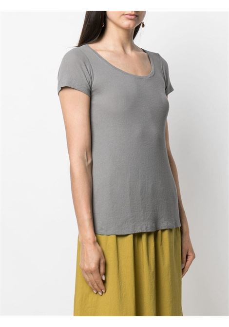 Grey cotton crew-neck fitted T-shirt  TRANSIT |  | CFDTRN-I18112