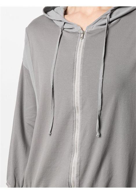 Felpa con cappuccio e coulisse in cotone elasticizzato grigio  TRANSIT |  | CFDTRN-J19912
