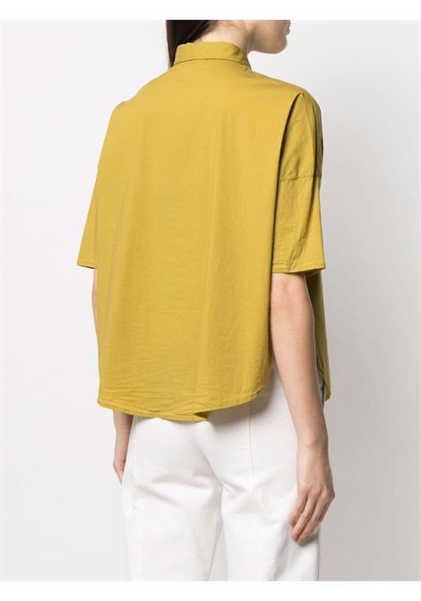 Snape yellow cotton curved-hem shirt  TRANSIT |  | CFDTRN-M22303