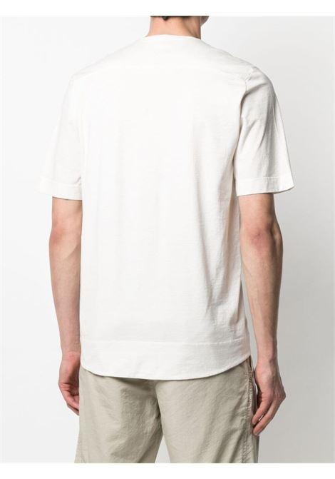 Avorio white cotton ribbed collar cotton T-shirt  TRANSIT |  | CFUTRN-1362U01