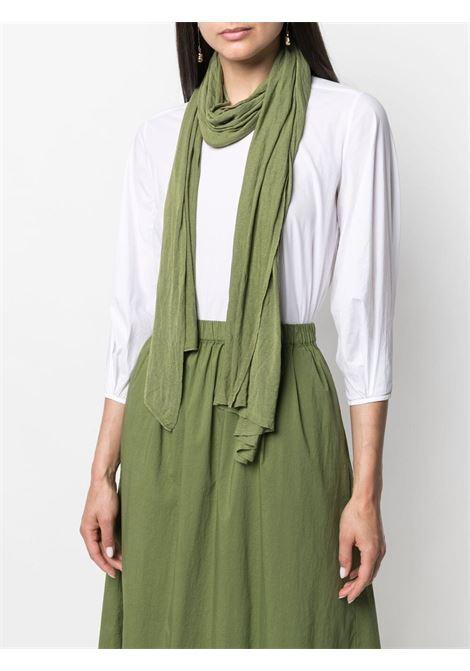 Olive green washed-effect scarf  TRANSIT |  | SCADTRN-200114