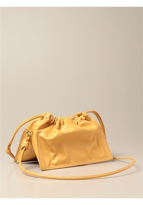 Borsa tote Bom in pelle gialla con tracolla a catena dor YUZEFI | Borse a mano | BOM-YUZSS21-HB-BO09