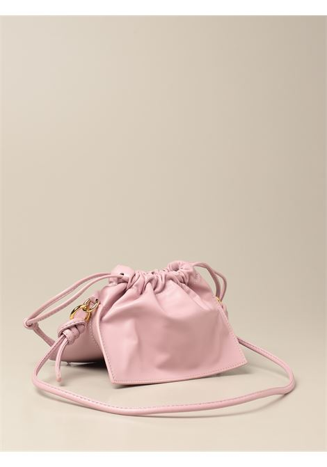 Iris pink leather Mini Bom crossbody bag YUZEFI |  | MINI BOM-YUZSS21-HB-MB08
