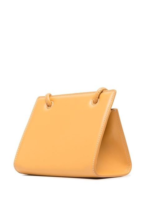 Honey leather mini Taco shoulder bag   YUZEFI |  | MINI TACO-YUZSS21-HB-TM09