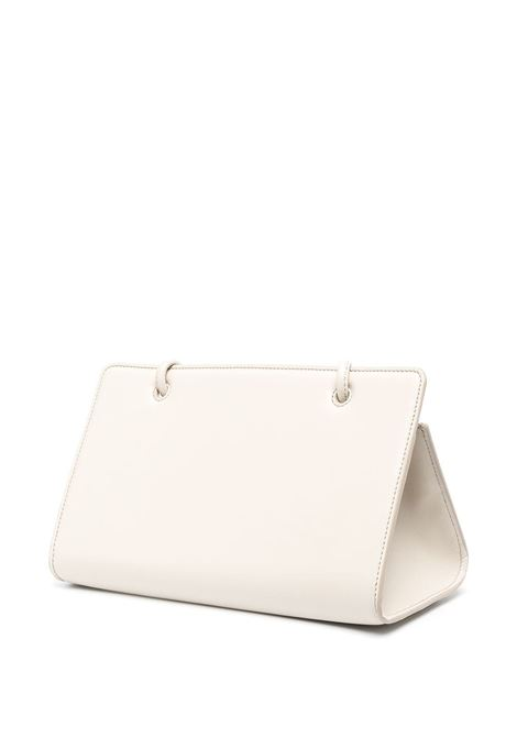 Ivory nude leather Taco shoulder bag  YUZEFI |  | TACO-YUZCO-HB-TC01