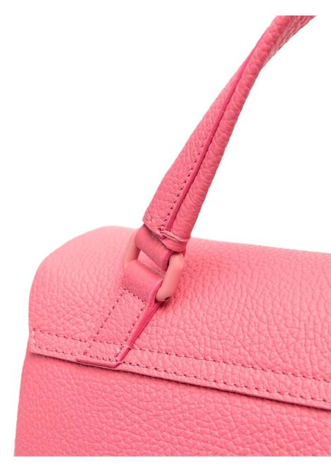 tote bag piccola Postina in pelle martellata rosa ZANELLATO | Borse a tracolla | 6802-P643