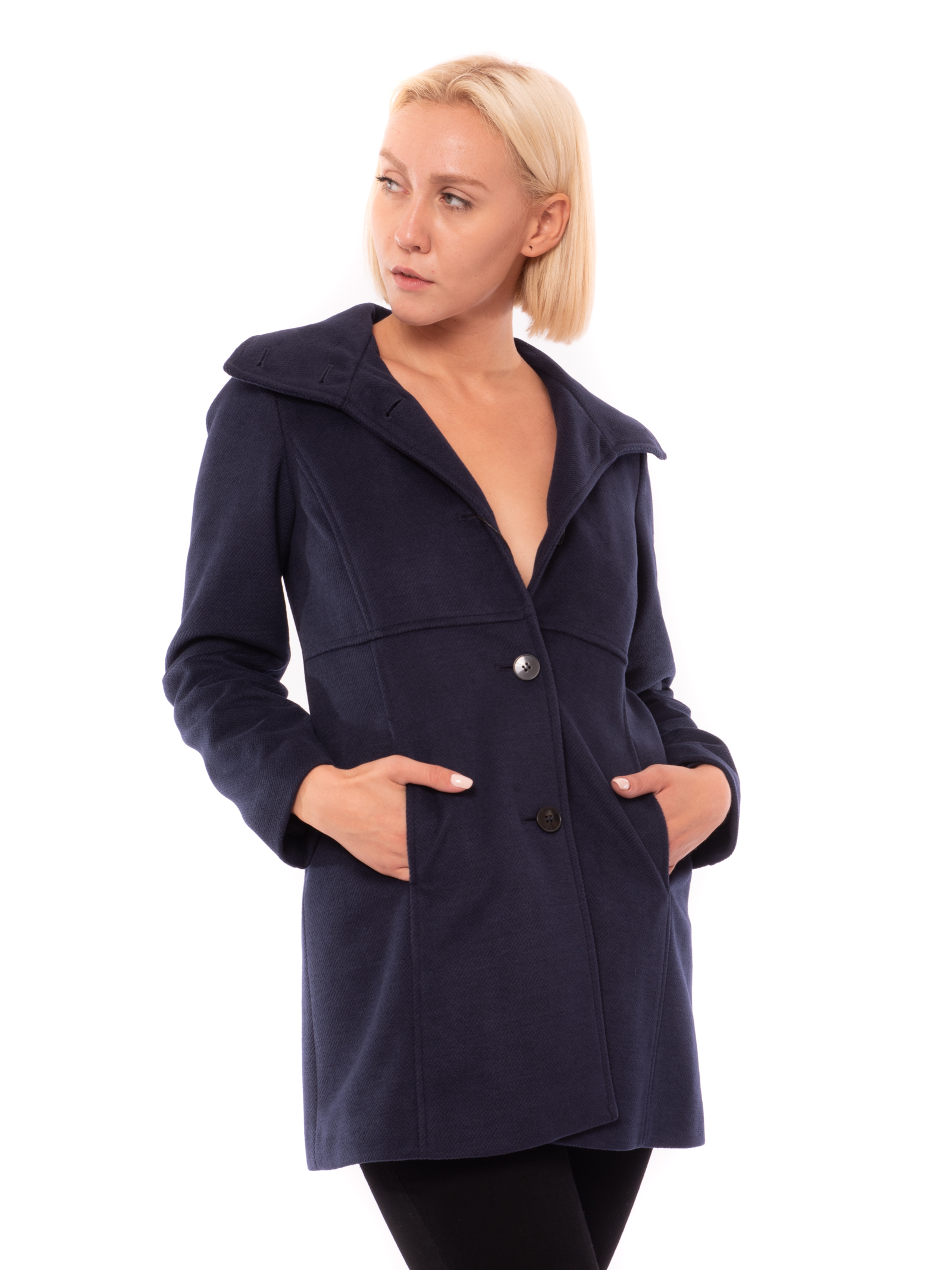 cappotto in jersey