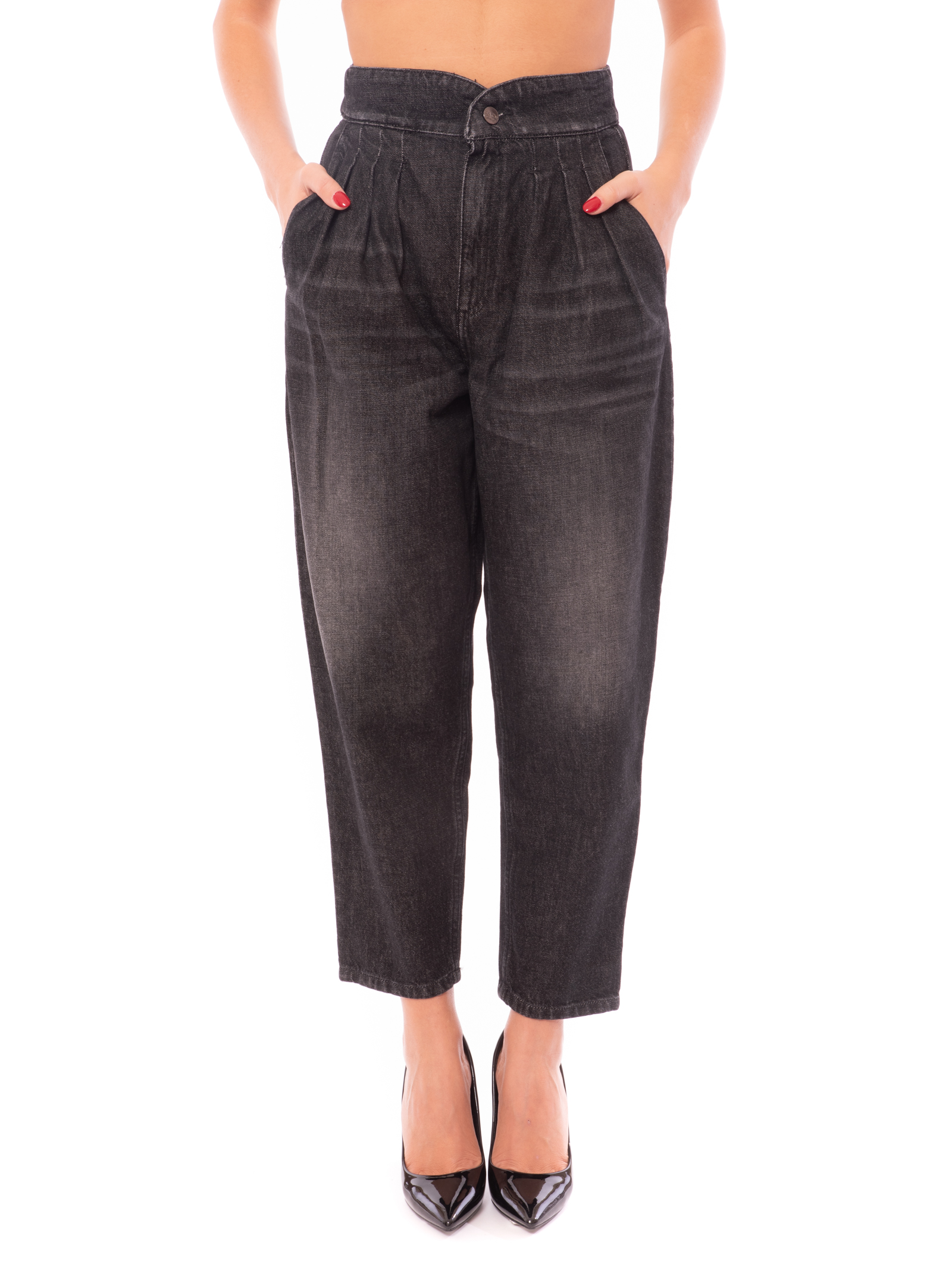 jeans con pinces