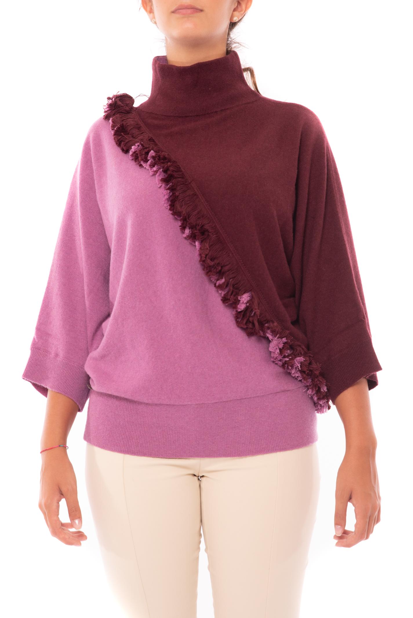 maglia collo ampio