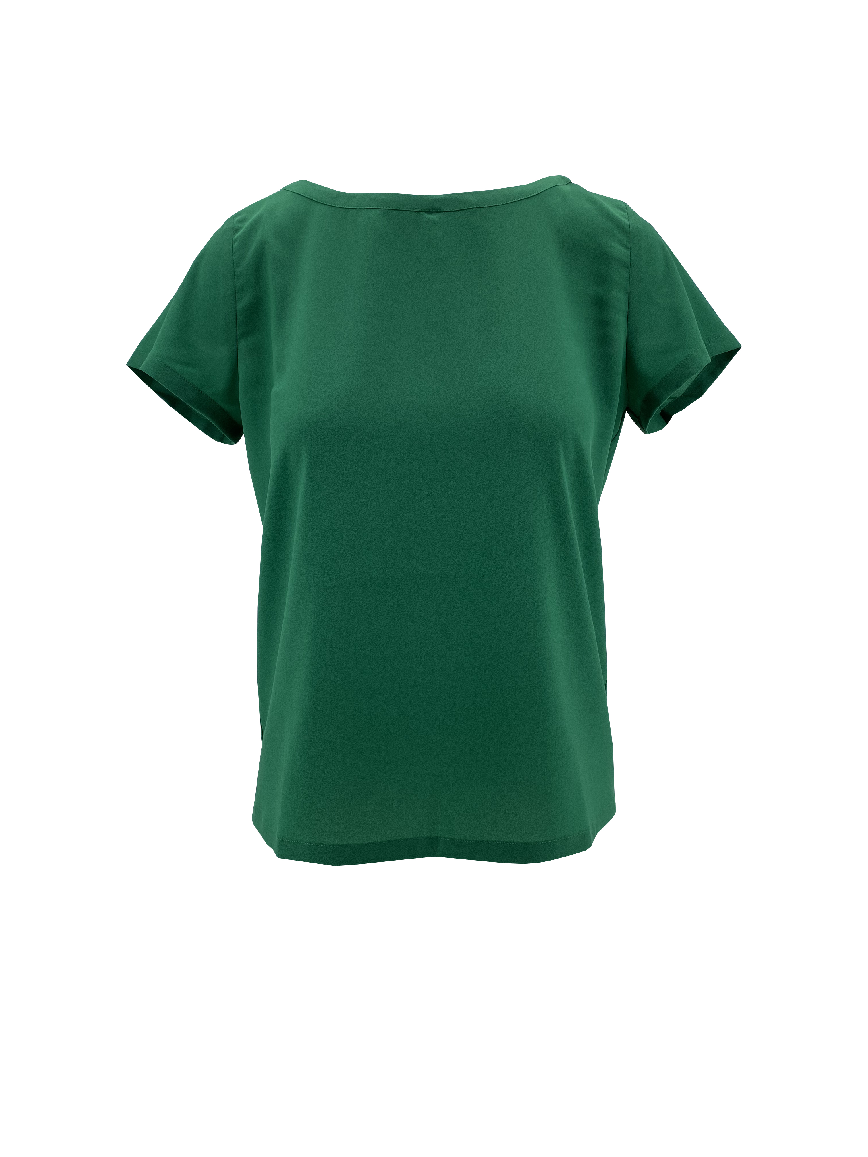 T-Shirt in crepe de chine