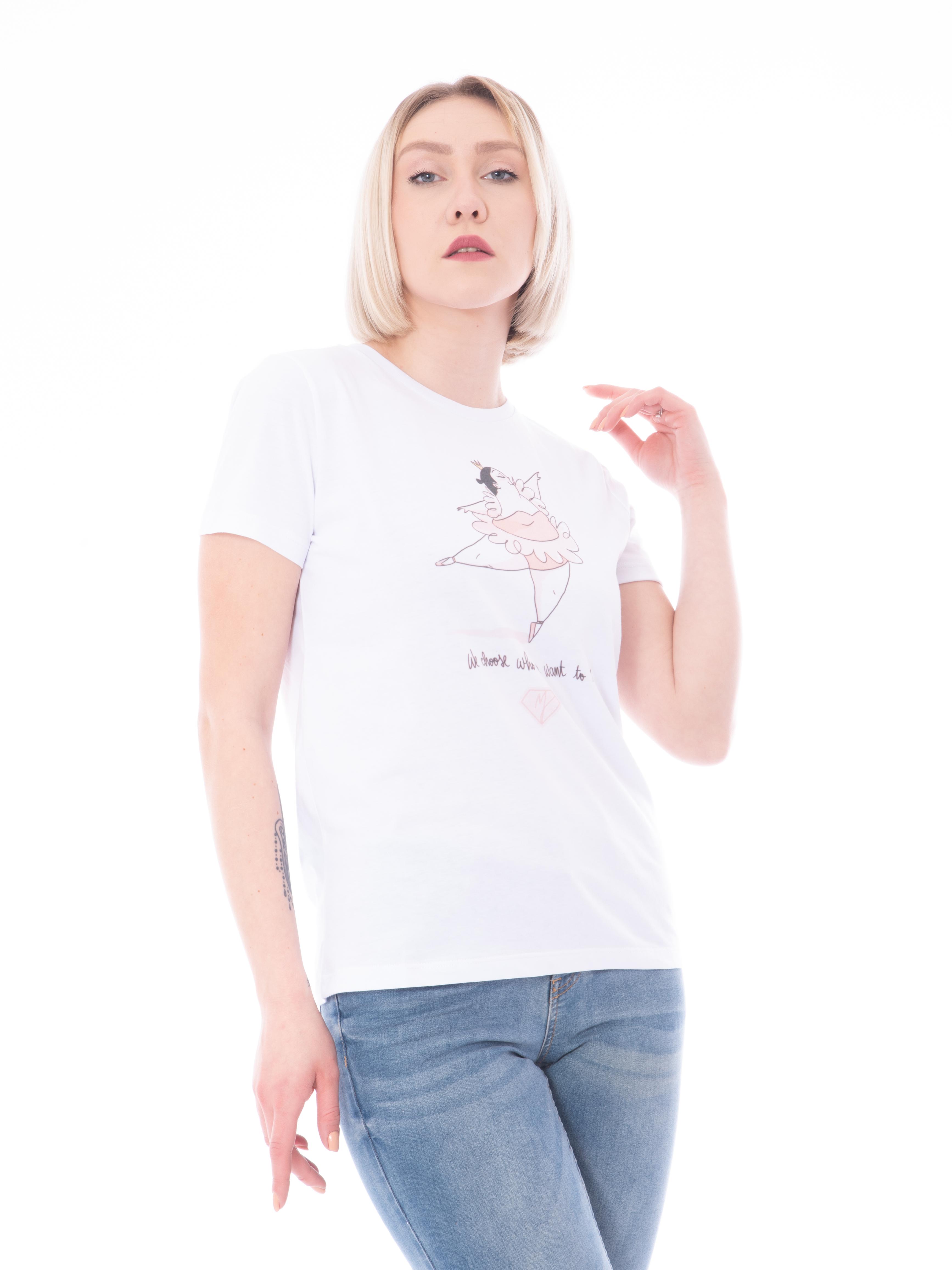 T-shirt stampa MANILA GRACE
