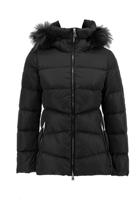 down jacket with detachable
