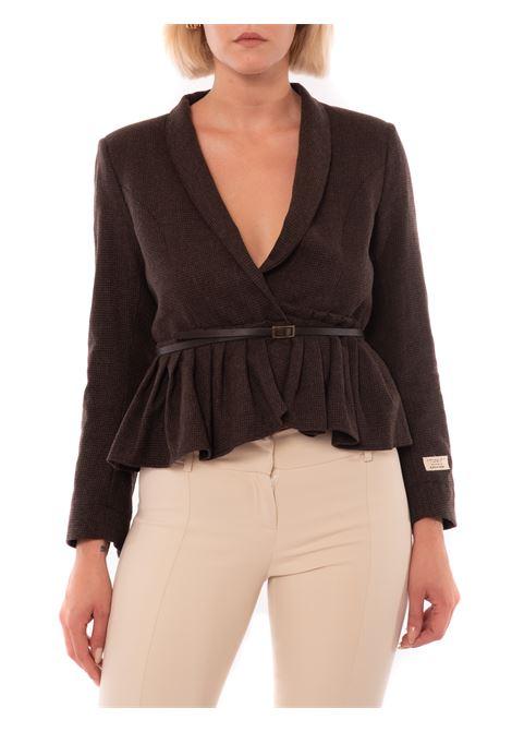 giacca con cintura