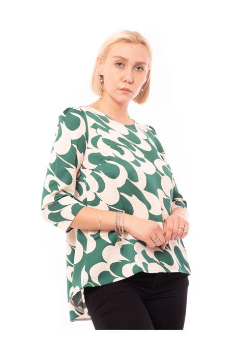 blusa stampata