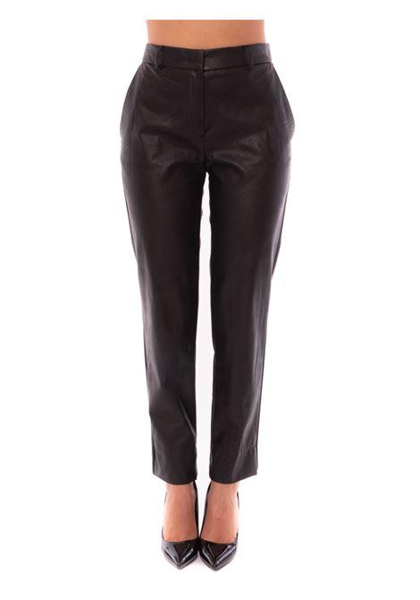 pantalone in ecopelle