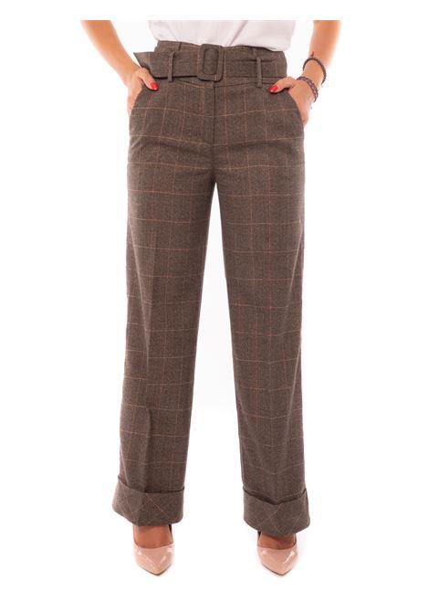 pantalone palazzo cinturato