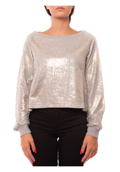 laminated sweatshirt