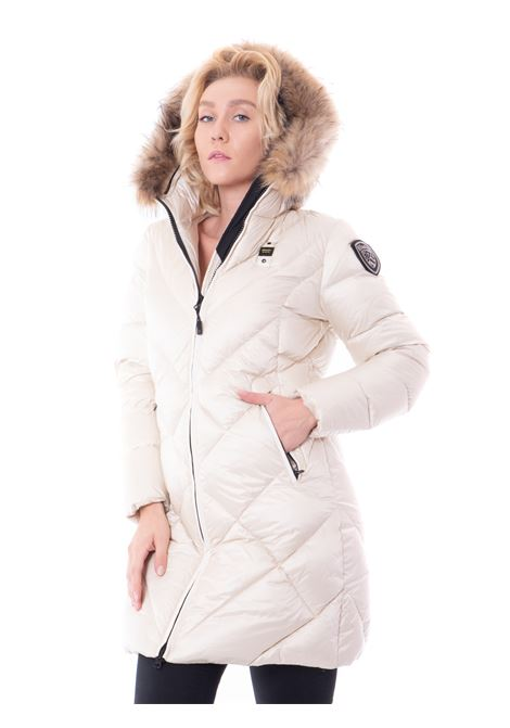 blauer usa regina long down jacket