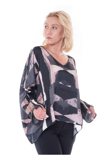 Manila Grace printed blouse