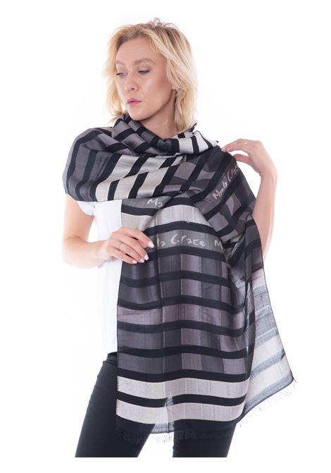manila grace rectangular scarf