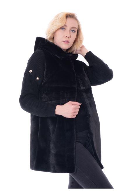 mehran faux fur vest