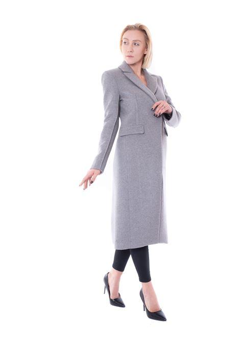 patrizia pepe ribbed coat