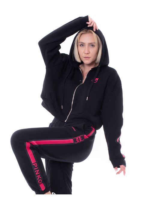pinko zipped hoodie