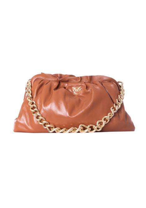pinko love chain clutch