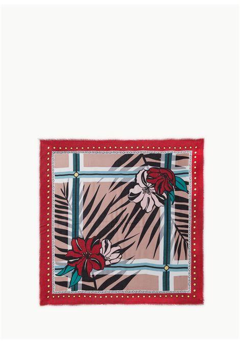 foulard 120x120 flowerzebra
