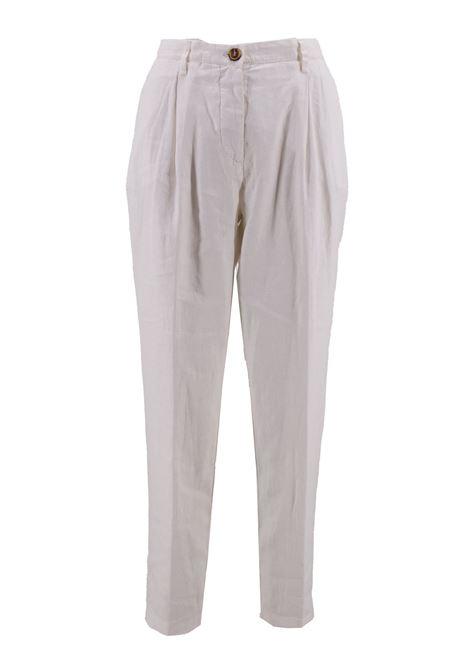 Pantalone lungo in misto lino