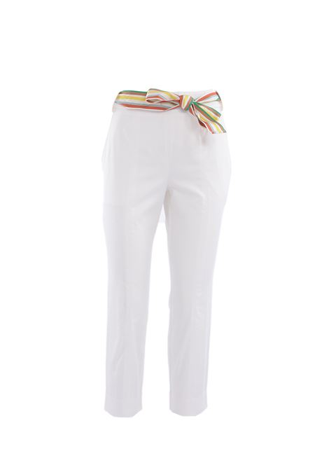 pantalone in raso stretch