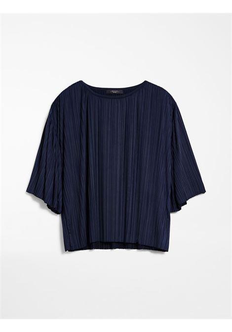 blusa in maglia