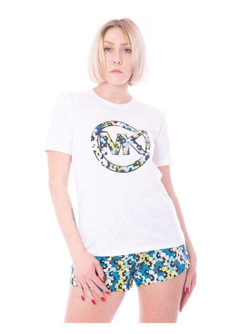 T-shirt circle logo MICHAEL KORS