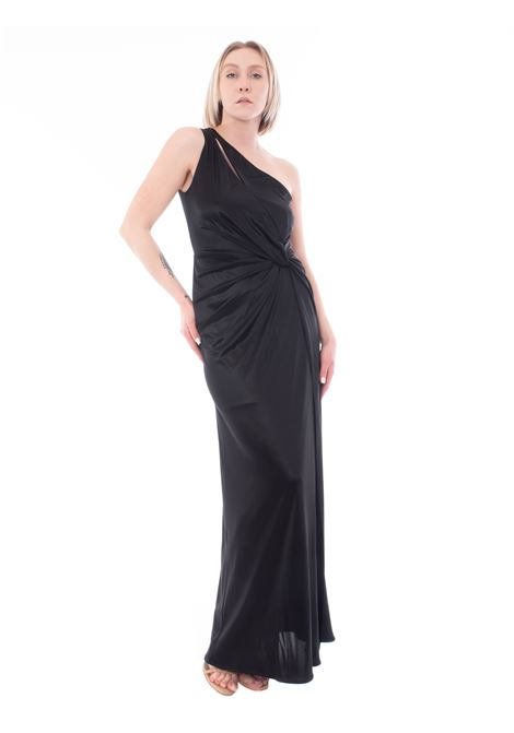 Nenette dress with lacquered effect
