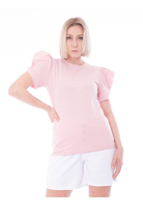 T-shirt manica a sbuffo SEMICOUTURE