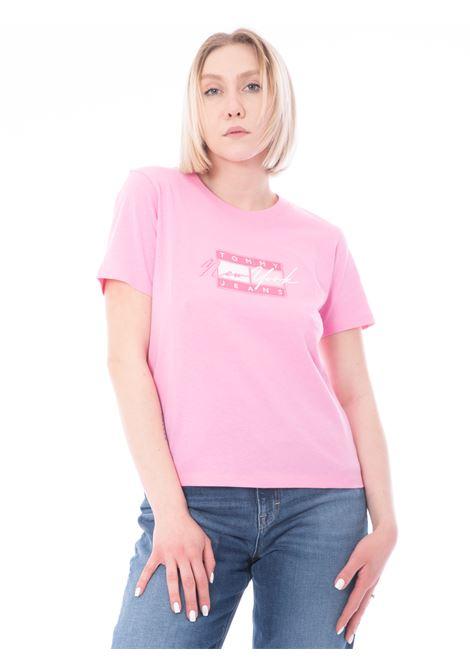 T-shirt stampa TOMMY HILFIGER