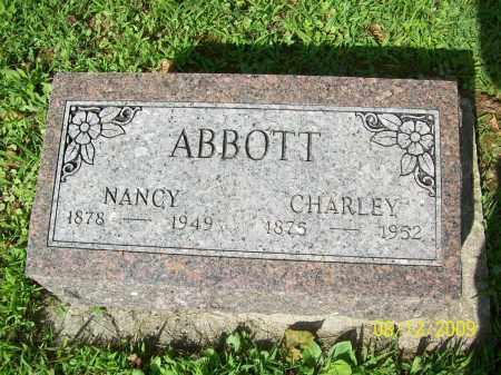 ABBOTT, CHARLEY - Adams County, Ohio | CHARLEY ABBOTT - Ohio Gravestone Photos