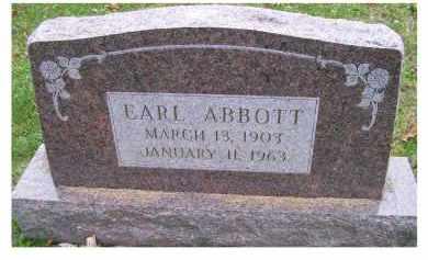 ABBOTT, EARL - Adams County, Ohio   EARL ABBOTT - Ohio Gravestone Photos