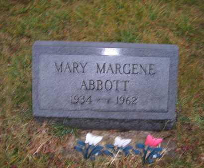 ABBOTT, MARY MARGENE - Adams County, Ohio | MARY MARGENE ABBOTT - Ohio Gravestone Photos
