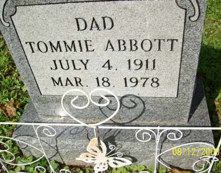 ABBOTT, TOMMIE - Adams County, Ohio | TOMMIE ABBOTT - Ohio Gravestone Photos