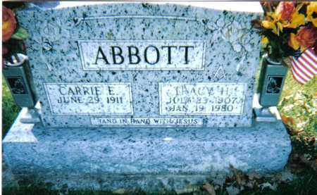 ABBOTT, TRACY H. - Adams County, Ohio | TRACY H. ABBOTT - Ohio Gravestone Photos