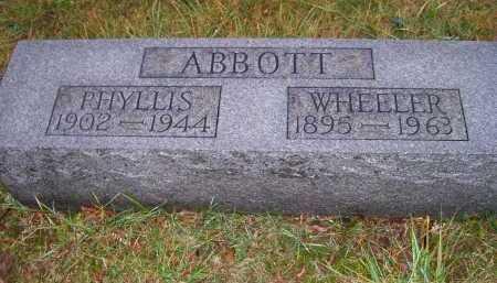 ABBOTT, PHYLLIS - Adams County, Ohio | PHYLLIS ABBOTT - Ohio Gravestone Photos